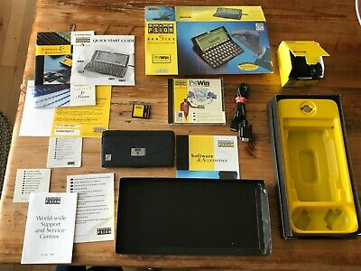Psion Series 5, 8mb, In Original Box with All Accessories + Psion CF card (4mb)
