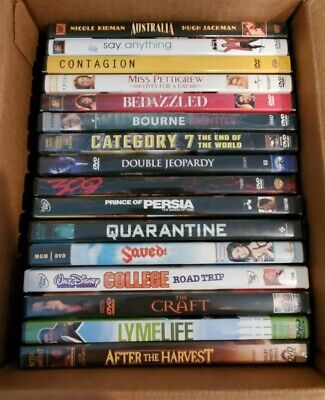 Lot of 16 Assorted DVD Movies A-List titles GREAT VARIETY!