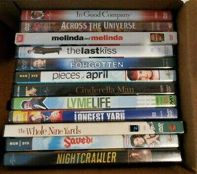 Lot of 12 Assorted DVD Movies A-List titles GREAT VARIETY!