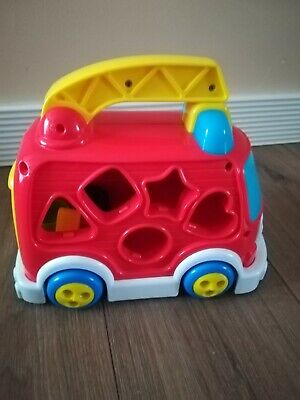 Educational car/ shape sorter
