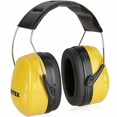 PRETEX Professional Cup Ear Defenders for Noise Levels up to 98 dB, Comfortable