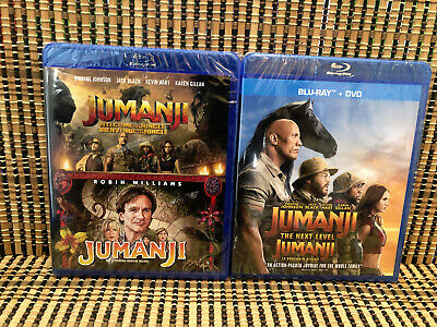 Jumanji Trilogy: Welcome to the Jungle/Next Level (4-Disc Blu-ray/DVD)3-Movies