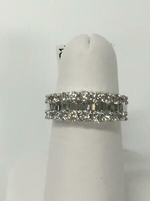 Platinum Diamond Band,  1.62ct.tw. diamonds  size 6