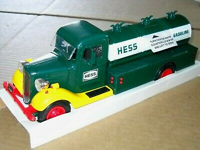 1985 HESS Tanker Truck - NEW In Box w/ Inserts And Battery Decal - BEAUTIFUL