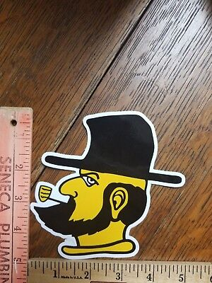 "Appalachian State Mountaineers NCAA Bumper Window Sticker Decal 5""X5"" (Yosef)"