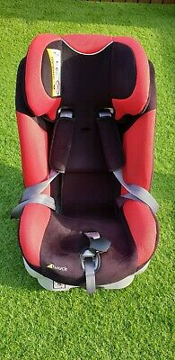 Used Hauck Varioguard Isofix Group 0+/1 Car Seat in red