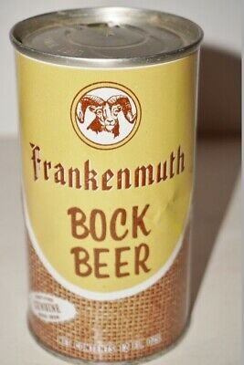 Frankenmuth Bock                Tab Top Beer Can