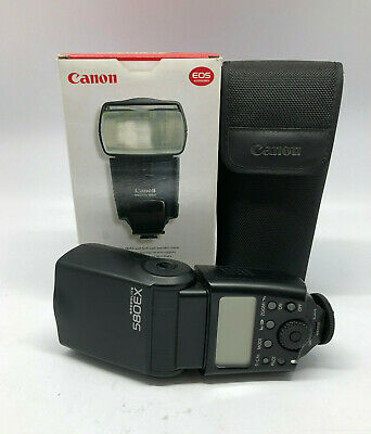 Canon Speedlite 580 Ex Flash Speed Light 134355