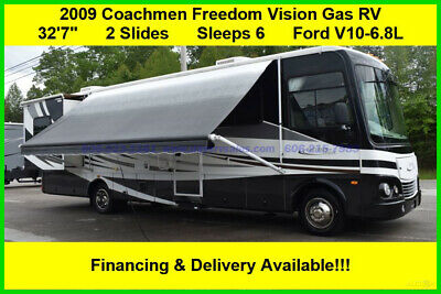 2009 Coachmen Freedom Vision Used Gas Motor Home Coach RV Ford Motorhome MH