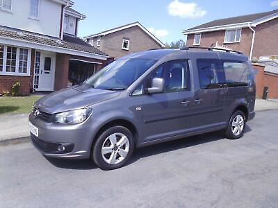 2011/60 Vw Caddy Auto Wheelchair Accessible Vehicle 5 Seats Automatic Tailgate