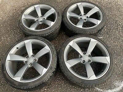 Audi A6 C7 2011-2018 Set Of Rotor Wheels With Pireli Tires 255/35/19 8T0601025Cd