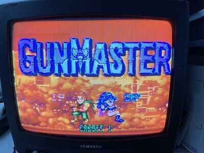 GunMaster  (Metro Co) Jamma board (PCB )for Arcade 100% Working & Original