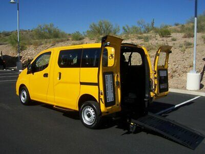 2016 Nissan NV NV200 Wheelchair Handicap Mobility Van 2016 Nissan NV200 Wheelchair Handicap Mobility Van Low Miles Best Price