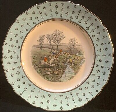Gray's Pottery Plate With Horses (Z3)