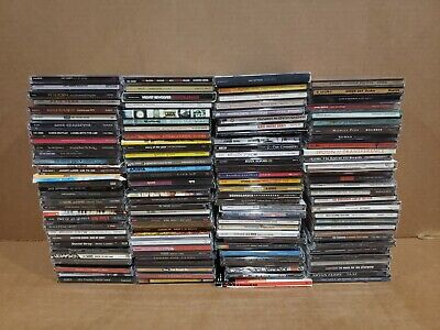 "Lot Of 120 Hard Rock,  Alternative  Cd's  90""s, 2000's"