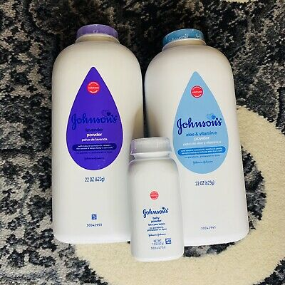 Johnson's Baby Powder for Lot 3 Variety Pack⚡️Ships Today⚡️ Lavender Aloe 22oz