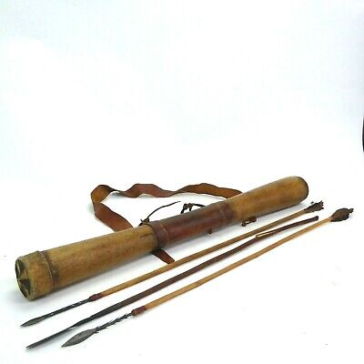 Real African Quiver and Three Arrows