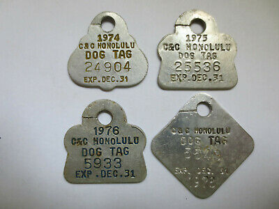 Honolulu Dog Tags (4)