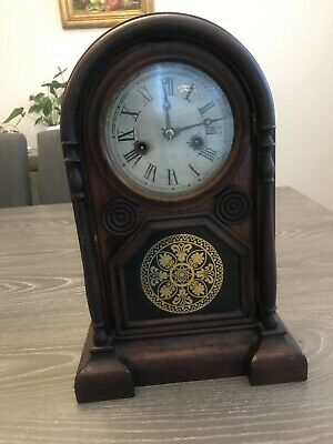 Antique clock by E.N.WELCH  1868 For Parts/repair