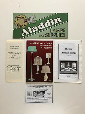 Aladdin Electric Lamps Collector's Manual & Price Guide #4 by JW Courter