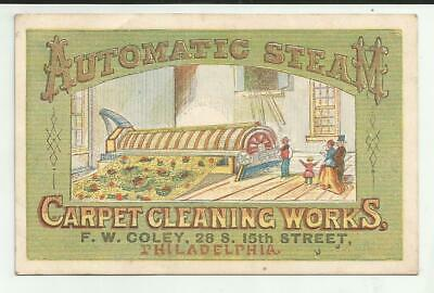 VTC Automatic Steam Carpet Cleaning Works FW Coley Philadelphia PA