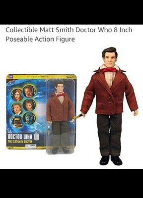 Doctor Who 11th Doctor Matt Smith Poseable Action Figure
