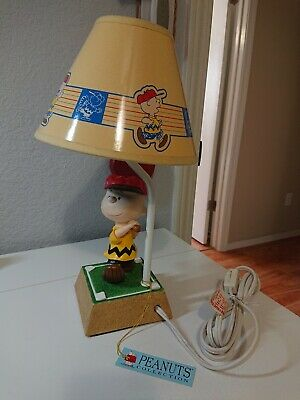 Westland Peanuts Charlie Brown Baseball Lamp 8366