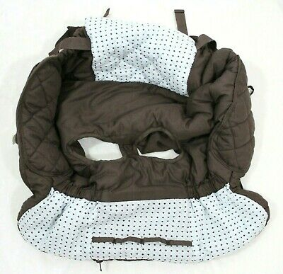 Eddie Bauer Unisex Shopping Cart Cover Brown and Light Blue