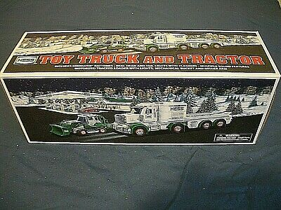 2013 Hess Toy Truck and Tractor - New In Box
