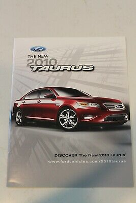 The New 2010 Ford Taurus brochure
