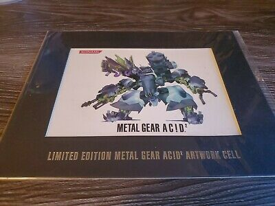 Metal Gear Acid 2 Limited Edition Artwork Cell - New in packaging