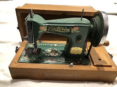 Vintage Victoria Mini Sewing Machine