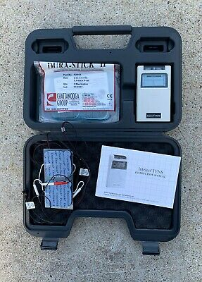 Chattanooga  Intelect  #77600 Standard Dual Channel TENS Unit w/ Timer  WATCH VI