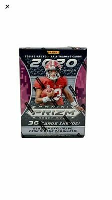 2020 Panini Prizm Draft Picks Football Blaster Box New Sealed Joe Burrow / Tua ?