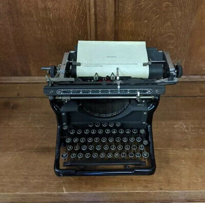 1930's Underwood Standard Model Typewriter 11