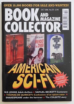 BOOK & MAGAZINE COLLECTOR #273 - 10/2006 - American Science Fiction
