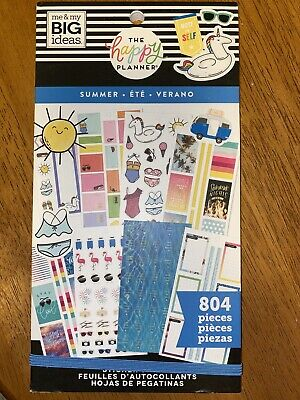 the happy planner sticker book   Summer