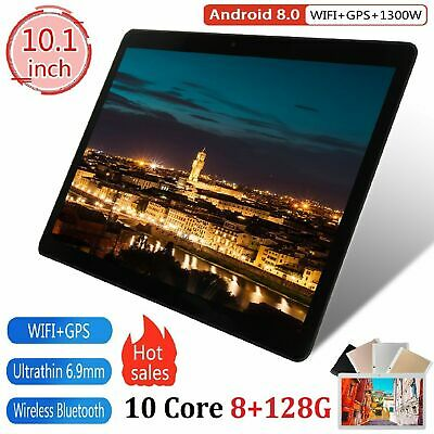 "10.1"" Tablet PC Android 8.0 Octa 8+128GB WIFI Wlan Gamer Phablet Kamera Tablette"