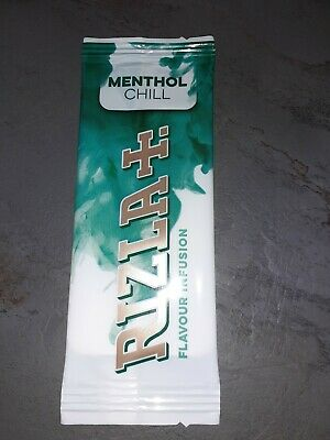 NEW Rizla Flavour Cards Card - Infusions of  Menthol Chill .Strongest flavour.