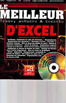 "Manuel EXCEL ""LE MEILLEUR D'EXCEL"" - versions 5 et Windows 95"