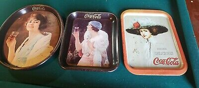 Coke Cola Items Serving Trays, 3 different ones.