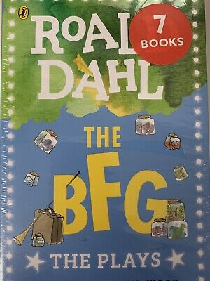 Roald Dahl The Plays 6 Books Collection Set The BFG, The Twits, Charlie and the