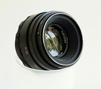 Helios-44-2 58mm f2 prime lens M42 mount – Great Bokeh lens in good condition