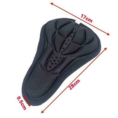 Wide Big Bum Bike Gel Cruiser Extra Sporty Soft Pad Vite Seat Saddle Z1H1 K3X5