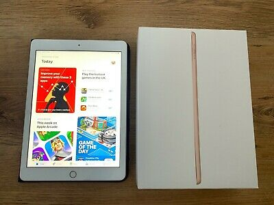 Apple iPad 6th Gen (A1893) - 32GB, Wi-Fi, 9.7in - Gold Tablet Boxed