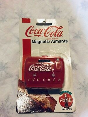 Rare Vintage Coca-Cola Magnet 1997 No. 51130 - New in Package