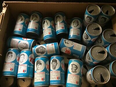 68 RC COLA PUSH TOP BASEBALL SODA CAN COLLECTION Several HOFers