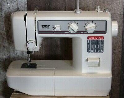 BROTHER BS-2120 SEWING MACHINE. Good working condition.