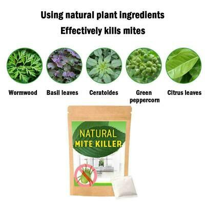 6Pcs/ Dust Mites Killer Mite Eliminator Natural For Bed Pillow Couch New B7J1