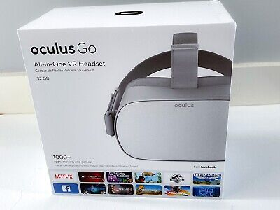 Oculus Go 32gb Standalone All in One VR Headset